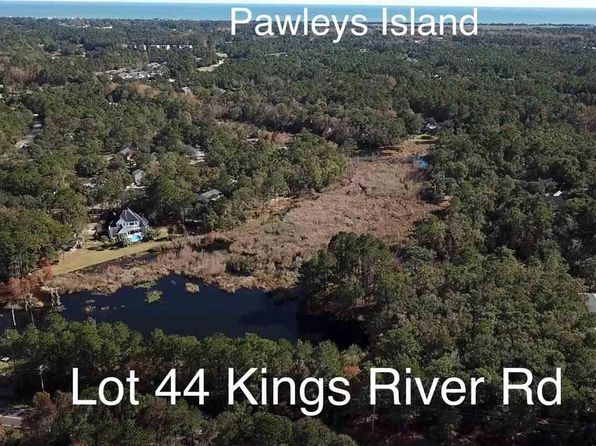 null bed null bath Vacant Land at  Kings River Rd Pawleys Island, SC, 29585 is for sale at 325k - 1 of 23