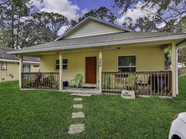 3 bed 2 bath Single Family at 360 Fortuna Ave St Augustine, FL, 32084 is for sale at 178k - 1 of 20