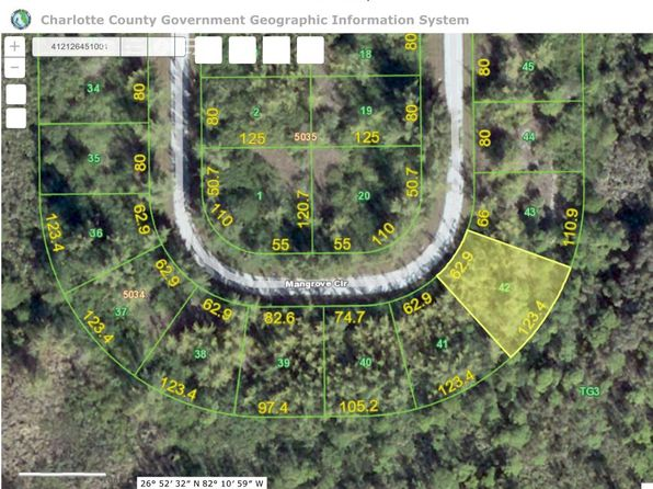 null bed null bath Vacant Land at 10590 MANGROVE CIR PORT CHARLOTTE, FL, 33981 is for sale at 12k - 1 of 4