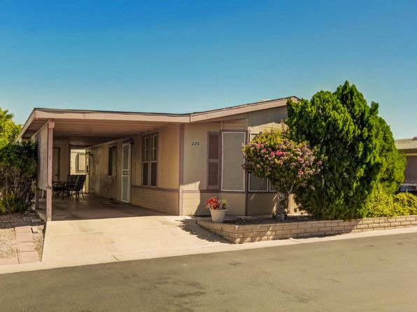2 bed 2 bath Mobile / Manufactured at 5735 E Mcdowell Rd Mesa, AZ, 85215 is for sale at 100k - 1 of 15