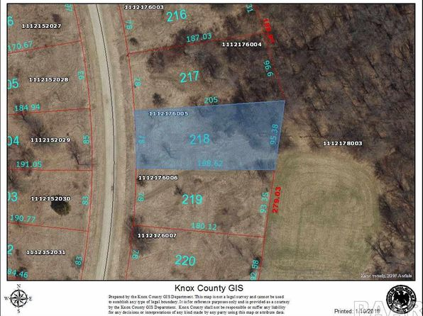 null bed null bath Vacant Land at 218 Tanglewood Ct Dahinda, IL, 61428 is for sale at 3k - google static map