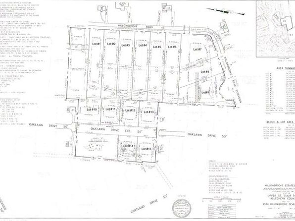 null bed null bath Vacant Land at  Lot # 2 Willowbrooke Upper St. Clair, PA, 15241 is for sale at 175k - google static map