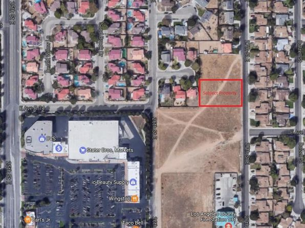 null bed null bath Vacant Land at 27TH Ave R1 Palmdale, CA, 93550 is for sale at 79k - google static map