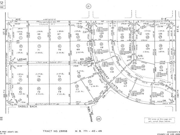 null bed null bath Vacant Land at 00 Desert Vista Dr Palmdale, CA, 93591 is for sale at 6k - google static map
