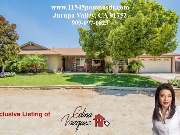 4 bed 2 bath Single Family at 11545 Pampus Dr Jurupa Valley, CA, 91752 is for sale at 490k - 1 of 27