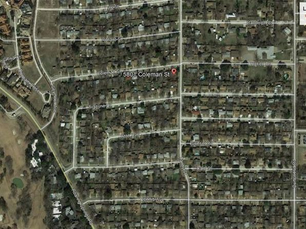 null bed null bath Vacant Land at 5801 Coleman St Westworth Village, TX, 76114 is for sale at 145k - google static map