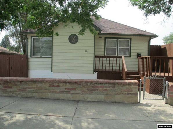 3 bed 2 bath Single Family at 212 Marion St Rock Springs, WY, 82901 is for sale at 205k - 1 of 13