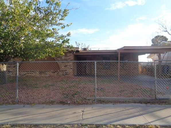 4 bed 2 bath Single Family at 6034 Deer Ave El Paso, TX, 79924 is for sale at 86k - 1 of 21