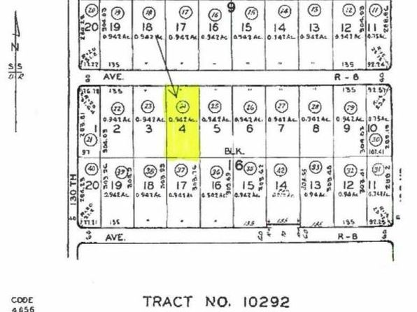 null bed null bath Vacant Land at  Ave R6 130th St Sun Village, CA, 93543 is for sale at 4k - google static map
