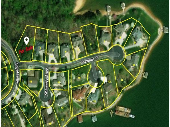 null bed null bath Vacant Land at 101 SHAWNEE PT LOUDON, TN, 37774 is for sale at 30k - 1 of 6
