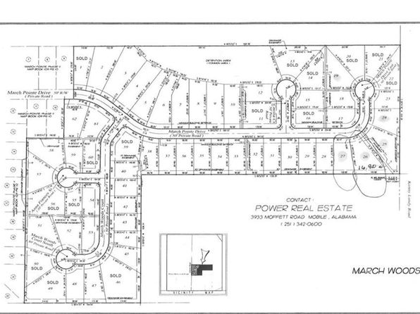 null bed null bath Vacant Land at 0 March Pointe Dr Theodore, AL, 36582 is for sale at 21k - google static map