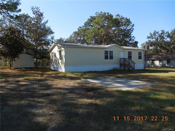 3 bed 2 bath Mobile / Manufactured at 5738 S Suelynn Pt Homosassa, FL, 34446 is for sale at 65k - 1 of 24
