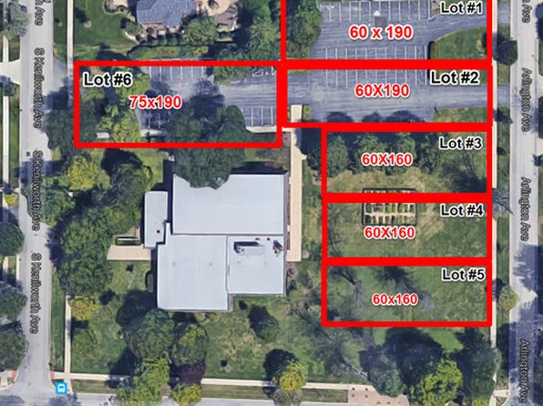 null bed null bath Vacant Land at  Lot # 2 Arlington Ave Elmhurst, IL, 60126 is for sale at 599k - google static map