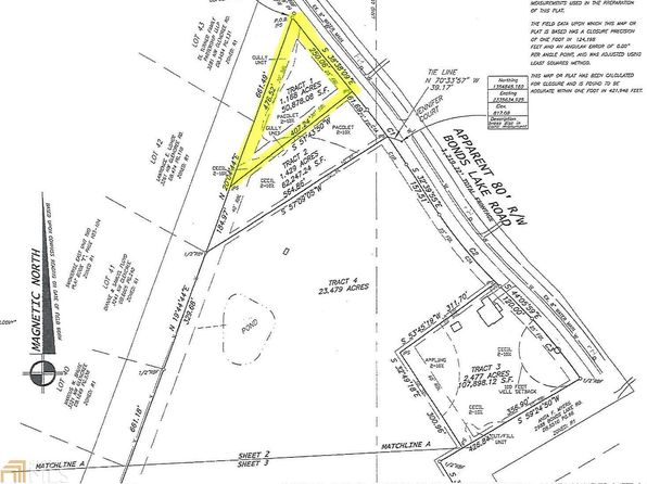 null bed null bath Vacant Land at 0 Bonds Lake Rd Conyers, GA, 30012 is for sale at 35k - google static map