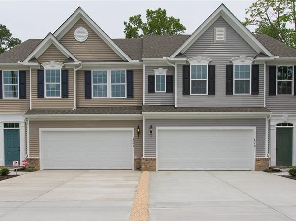 3 bed 3 bath Townhouse at 606 Schaefer Ave Chesapeake, VA, 23321 is for sale at 280k - google static map