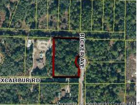 null bed null bath Vacant Land at 0 Excalibur Rd Ridge Manor, FL, 33597 is for sale at 9k - google static map
