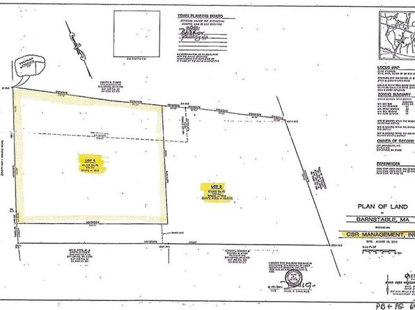 null bed null bath Vacant Land at 1526 &1536 Hyannis Rd Barnstable, MA, 02630 is for sale at 895k - 1 of 2