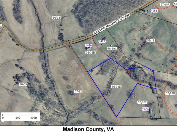 null bed null bath Vacant Land at 000 Repton Mill Rd Aroda, VA, 22738 is for sale at 65k - 1 of 18