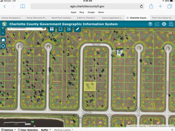 null bed null bath Vacant Land at 6 ELM DR PLACIDA, FL, 33946 is for sale at 7k - google static map