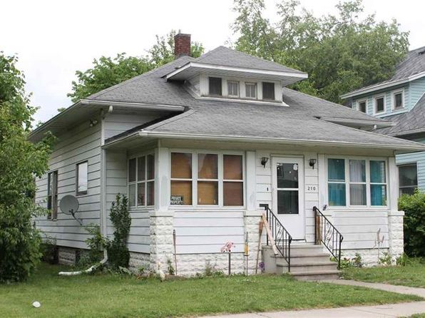 2 bed 1 bath Single Family at 210 W Garfield Ave Elkhart, IN, 46516 is for sale at 35k - google static map