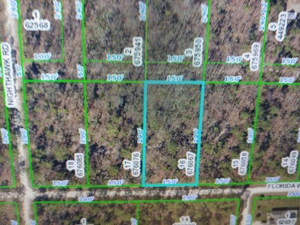 null bed null bath Vacant Land at  Florida Wren Ave Brooksville, FL, 34614 is for sale at 12k - google static map