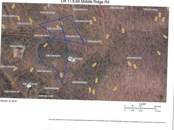 null bed null bath Vacant Land at 17/8/8A Middle Ridge Rd Sylva, NC, 28779 is for sale at 49k - google static map