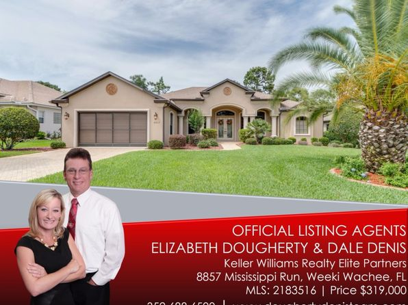 3 bed 3 bath Single Family at 8857 Mississippi Run Weeki Wachee, FL, 34613 is for sale at 319k - 1 of 29