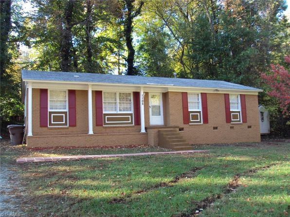 4 bed 2 bath Single Family at 1105 Birchcrest Dr Greensboro, NC, 27406 is for sale at 116k - 1 of 23