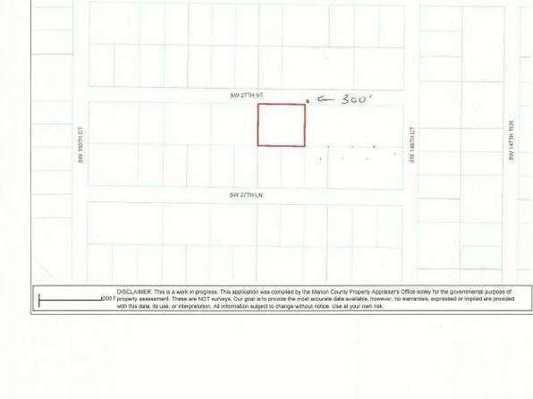 null bed null bath Vacant Land at 005 SW 27th Ave Ocala, FL, 34471 is for sale at 6k - google static map