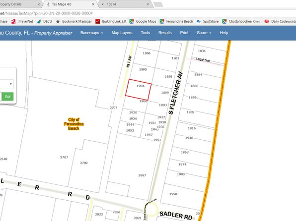 null bed null bath Vacant Land at 1904 1ST AVE FERNANDINA BEACH, FL, 32034 is for sale at 279k - 1 of 3