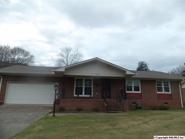 3 bed 2 bath Single Family at 104 Cleveland Ct Gadsden, AL, 35901 is for sale at 130k - 1 of 17