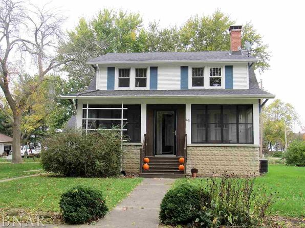 4 bed 2 bath Single Family at 201 S High St Ellsworth, IL, 61737 is for sale at 120k - 1 of 23