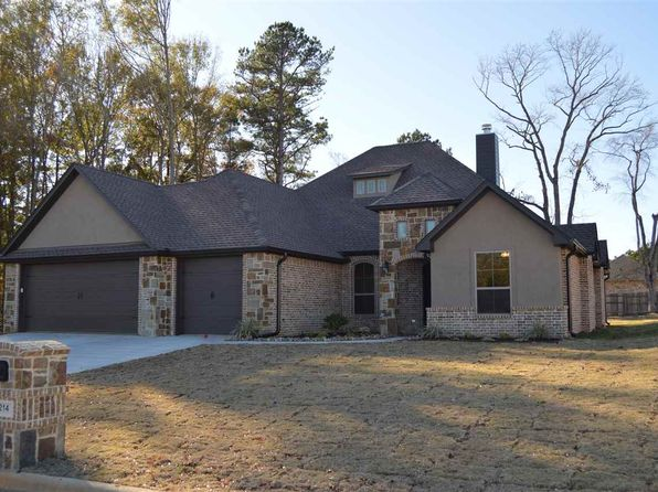 4 bed 3 bath Single Family at 214 Saddle Brook Cir Hallsville, TX, 75650 is for sale at 306k - 1 of 25