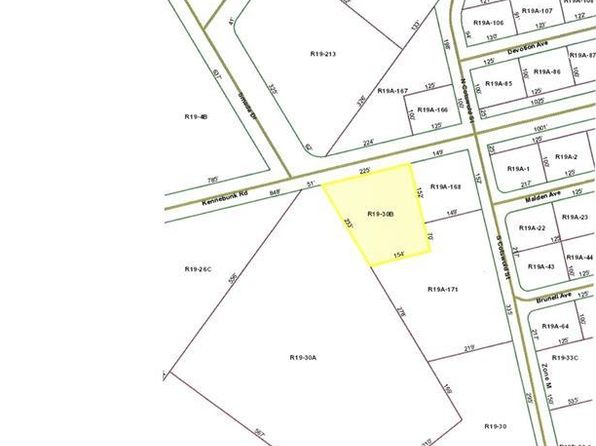 null bed null bath Vacant Land at R19-30B Kennebunk Rd Sanford, ME, 04073 is for sale at 115k - 1 of 2