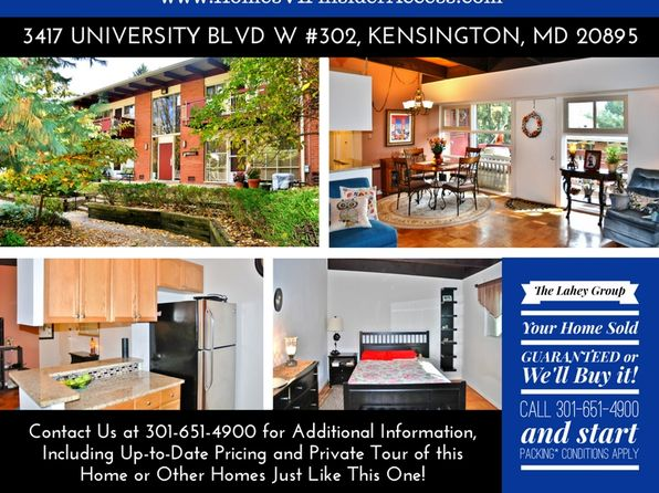 3 bed 1 bath Condo at 3417 University Blvd W Kensington, MD, 20895 is for sale at 190k - 1 of 30