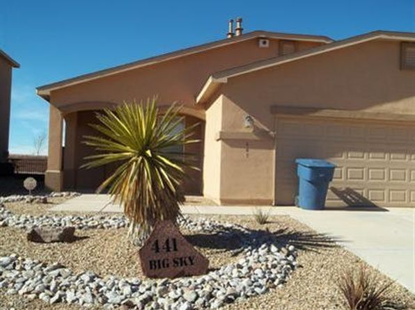 3 bed 2 bath Single Family at 441 BIG SKY AVE SW LOS LUNAS, NM, 87031 is for sale at 187k - google static map