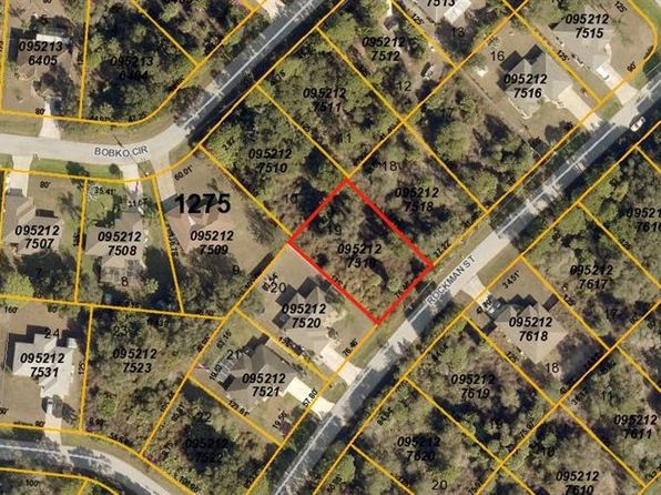 null bed null bath Vacant Land at  ROCKMAN ST NORTH PORT, FL, 34291 is for sale at 6k - google static map