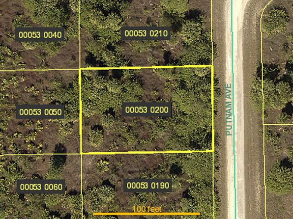 null bed null bath Vacant Land at 414 PUTNAM AVE LEHIGH ACRES, FL, 33974 is for sale at 4k - google static map