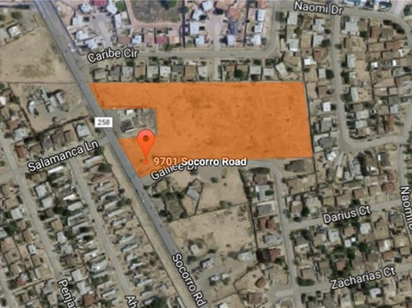 null bed null bath Vacant Land at 9701 Socorro Rd El Paso, TX, 79927 is for sale at 690k - 1 of 7