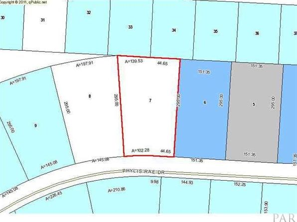 null bed null bath Vacant Land at 00 Phylis Rae Dr Pace, FL, 32571 is for sale at 65k - google static map