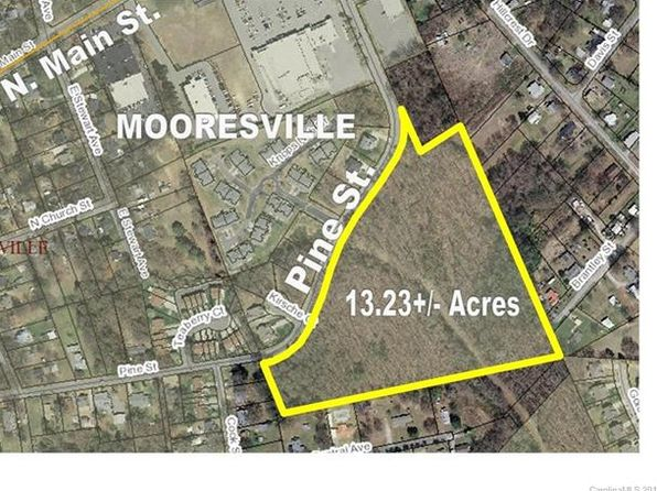 null bed null bath Vacant Land at  0 Pine Street Mooresville, NC, 28115 is for sale at 450k - google static map