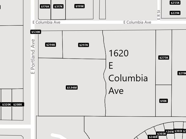 3 bed null bath Vacant Land at 1620 E Columbia Ave Tacoma, WA, 98404 is for sale at 765k - google static map