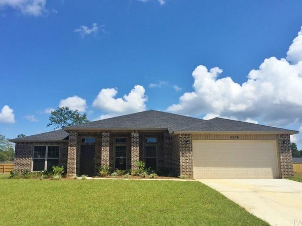 4 bed 3 bath Single Family at 5506 Mill Race Cir Pace, FL, 32571 is for sale at 268k - 1 of 50