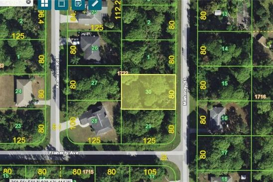 null bed null bath Vacant Land at 5441 Mahoney St Port Charlotte, FL, 33981 is for sale at 10k - google static map