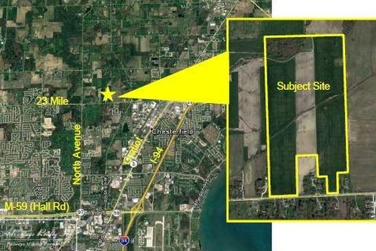 0 bed null bath Vacant Land at 0 23 Mile Macomb, MI, 48042 is for sale at 2.09m - google static map
