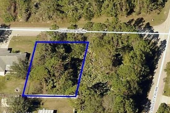 null bed null bath Vacant Land at 716 DOVERBROOK RD NW PALM BAY, FL, 32907 is for sale at 22k - google static map