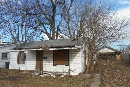 2 bed 1 bath Single Family at 47 Arlington Dr Danville, IL, 61832 is for sale at 12k - google static map