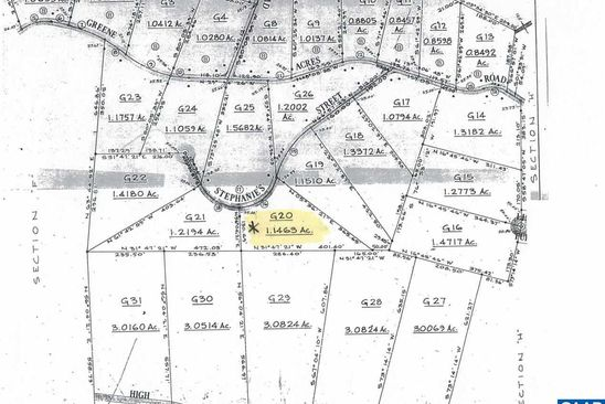 null bed null bath Vacant Land at  Stephanie St Lot: 20 Stanardsville, VA, 22973 is for sale at 13k - google static map