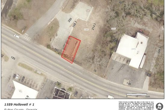 null bed null bath Multi Family at 1589 Hllwell Pkwy NW Atlanta, GA, 30318 is for sale at 100k - google static map