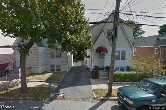 4 bed 3 bath Multi Family at 2418 WESTERVELT AVE BRONX, NY, 10469 is for sale at 505k - google static map